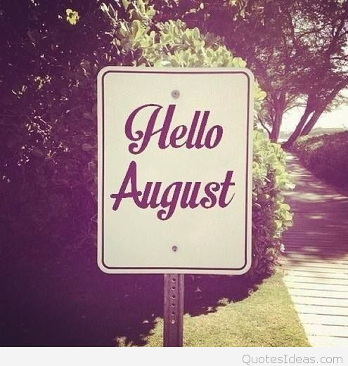 Photo Images Hello August New
