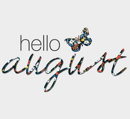 Welcome August Images Free