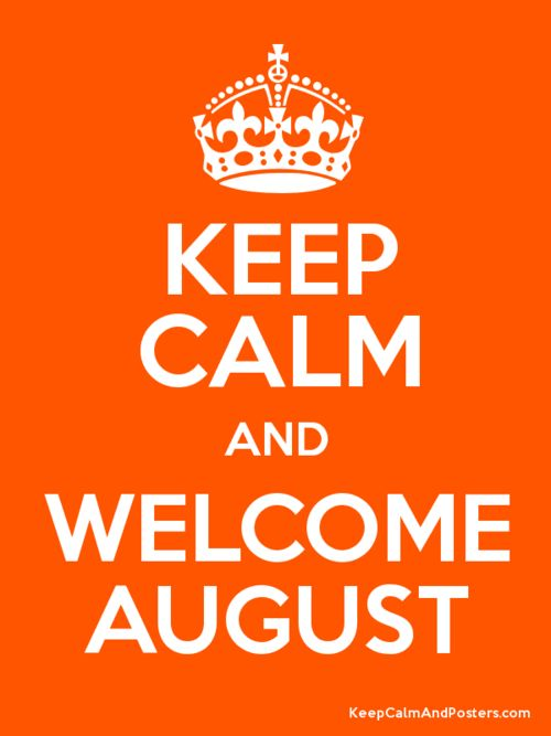 Welcome August Images for Whatsapp