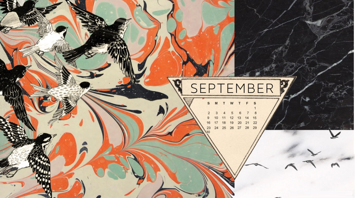 Amazing September 2018 Desktop Calendar