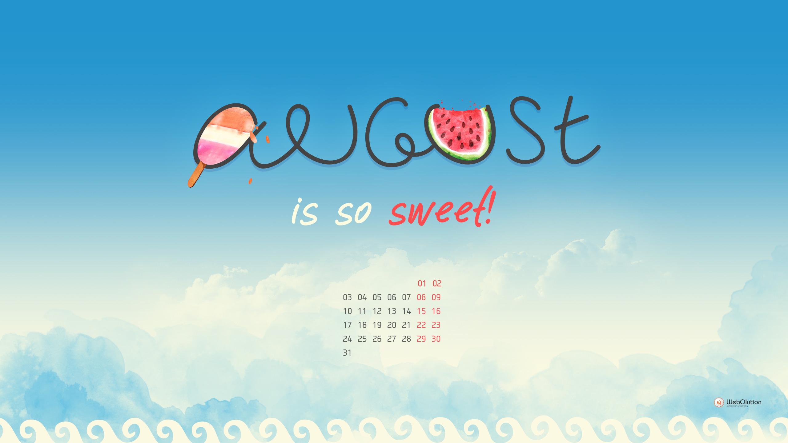 August Desktop Wallpapers