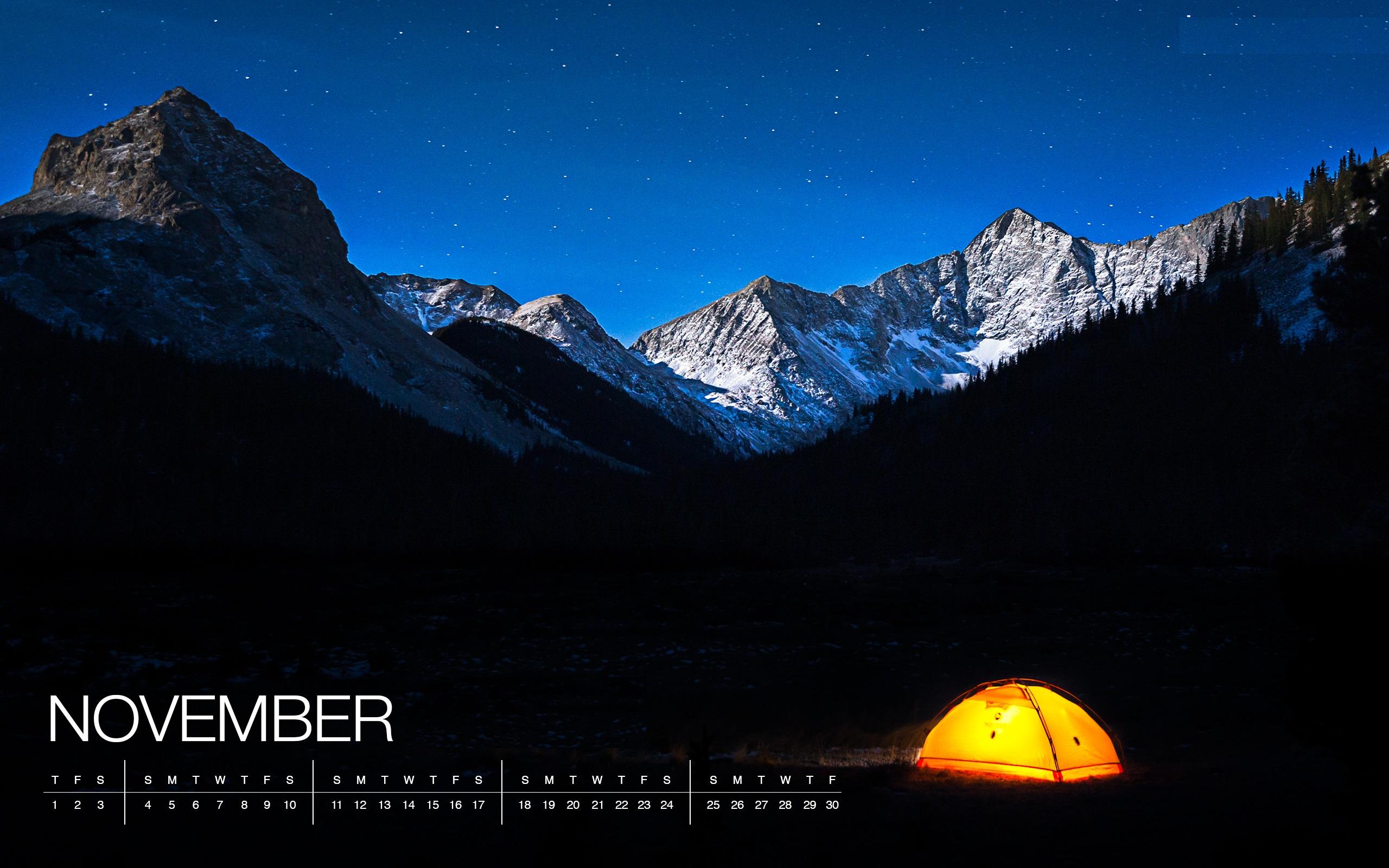 Excellent November 2018 Calendar