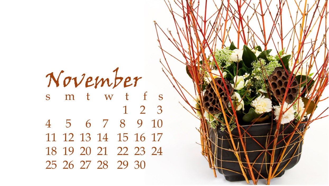 November 2018 Calendar Download