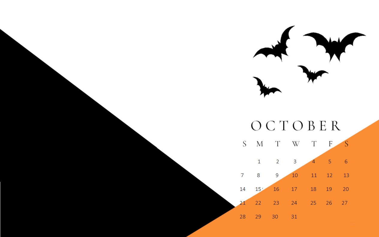 October 2018 Calendar Wallpapers Designs