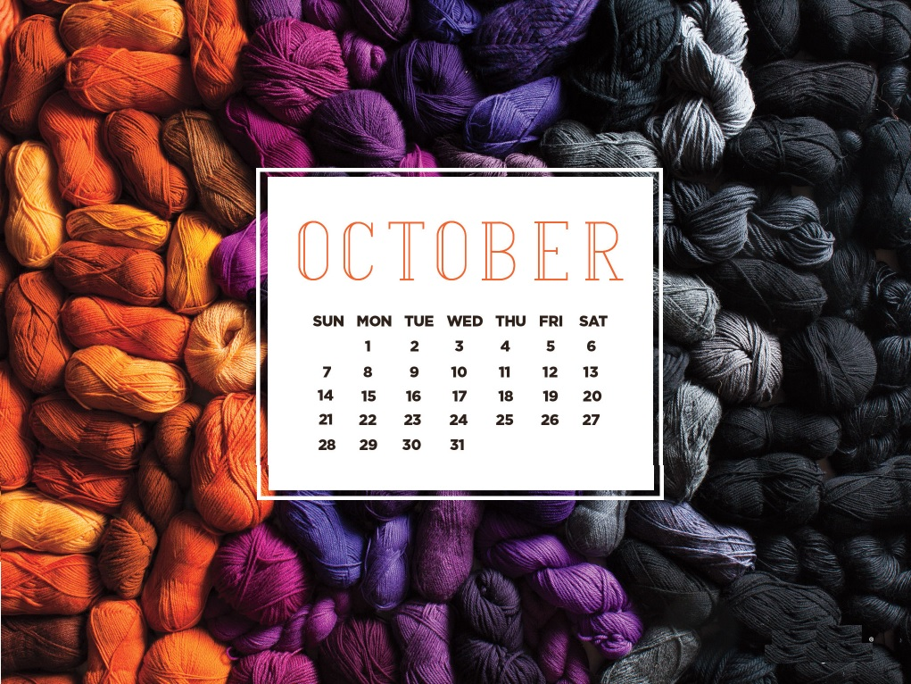 October 2018 Calendar Wallpapers Download