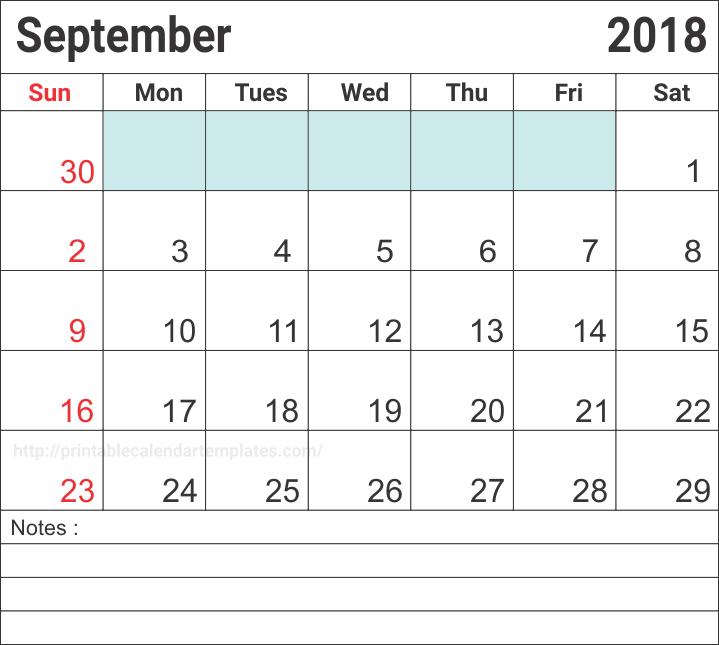 September 2018 Australia