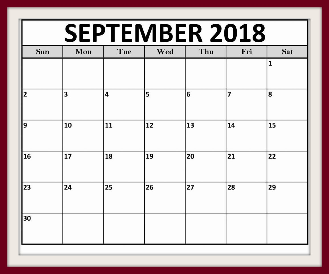 September 2018 Calendar Telugu Holidays