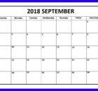 September 2018 Calendar Telugu Word excel Pdf