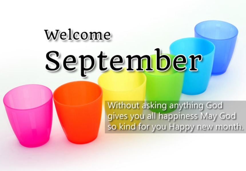 Welcome September Quotes Images