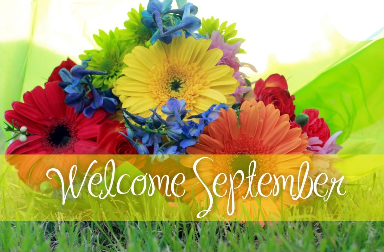 Welcome September Quotes Wallpaper