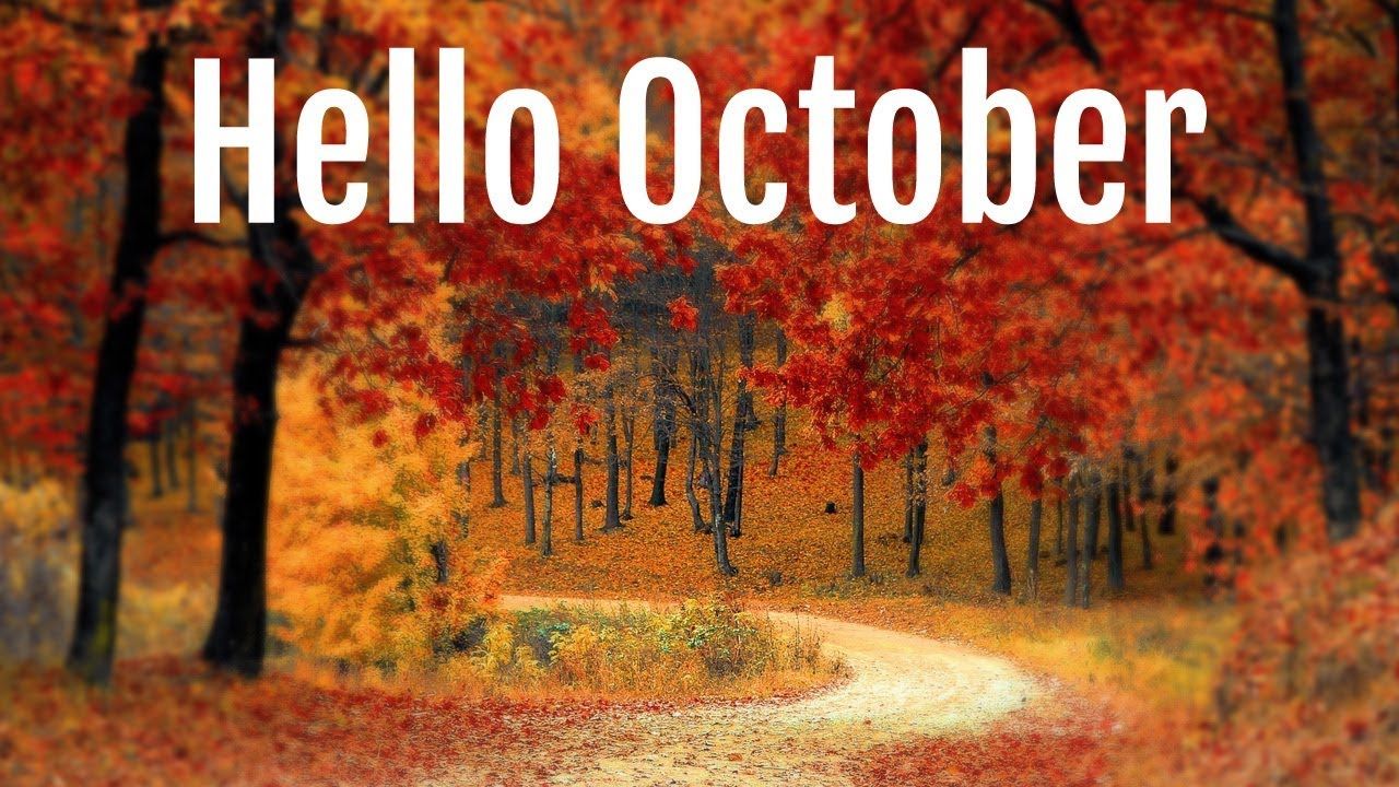 Cute Hello October Images