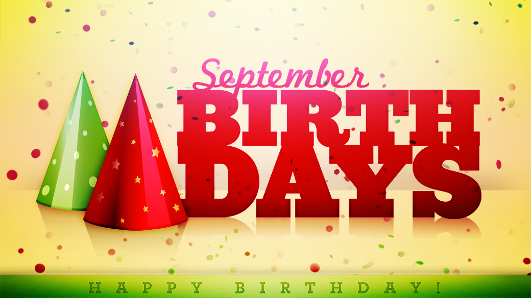 Editable September Birthday Special Images, Quotes