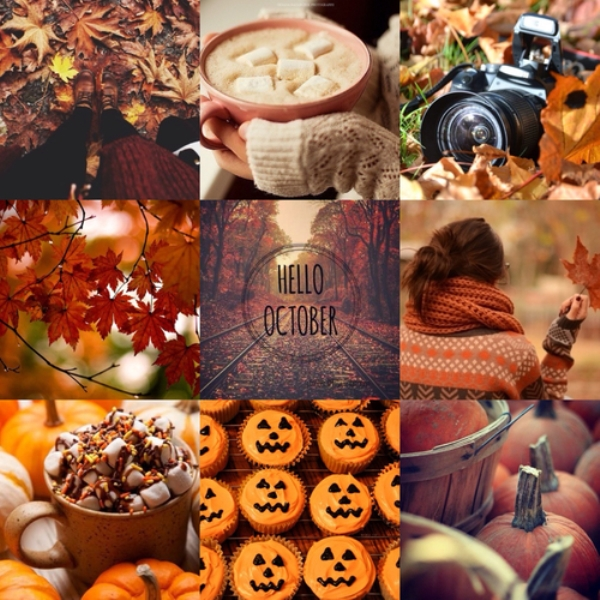 Free Hello October Images