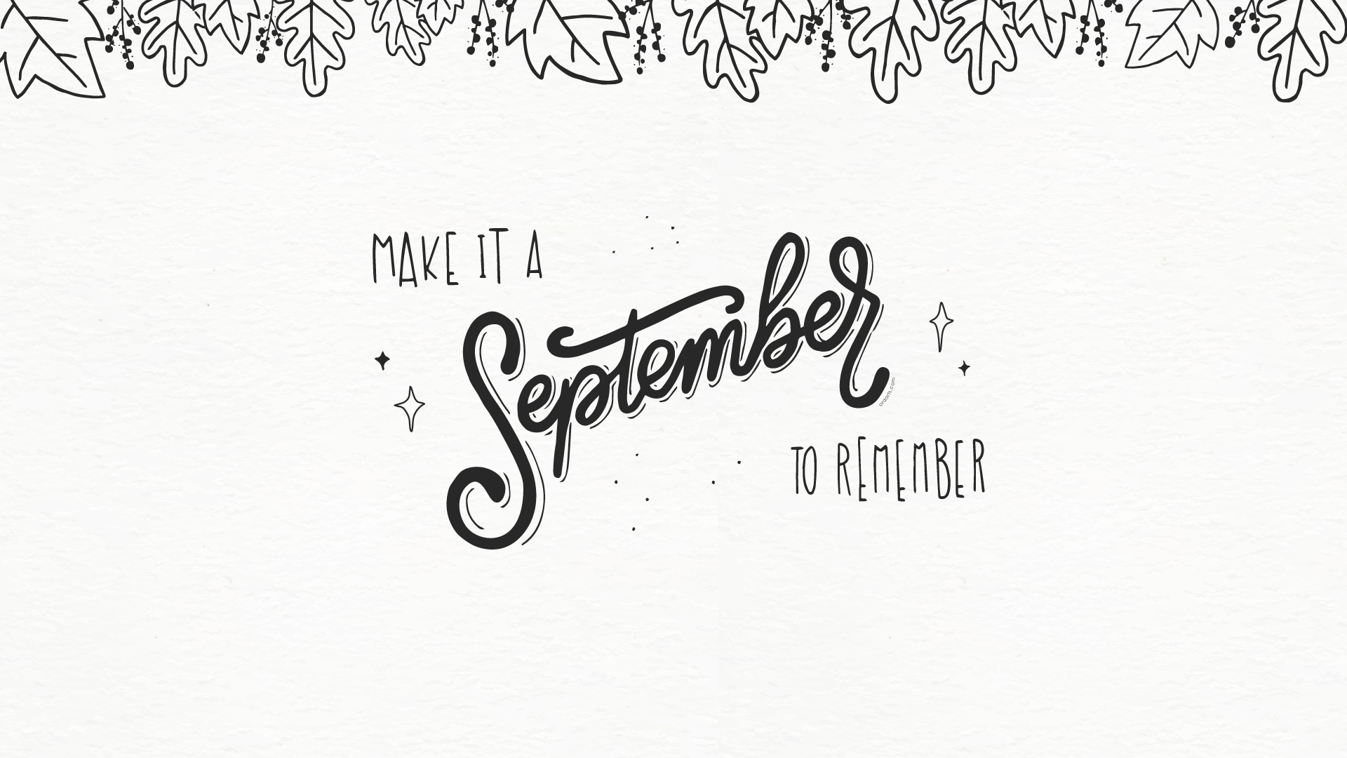 Free Hello September Wallpapers