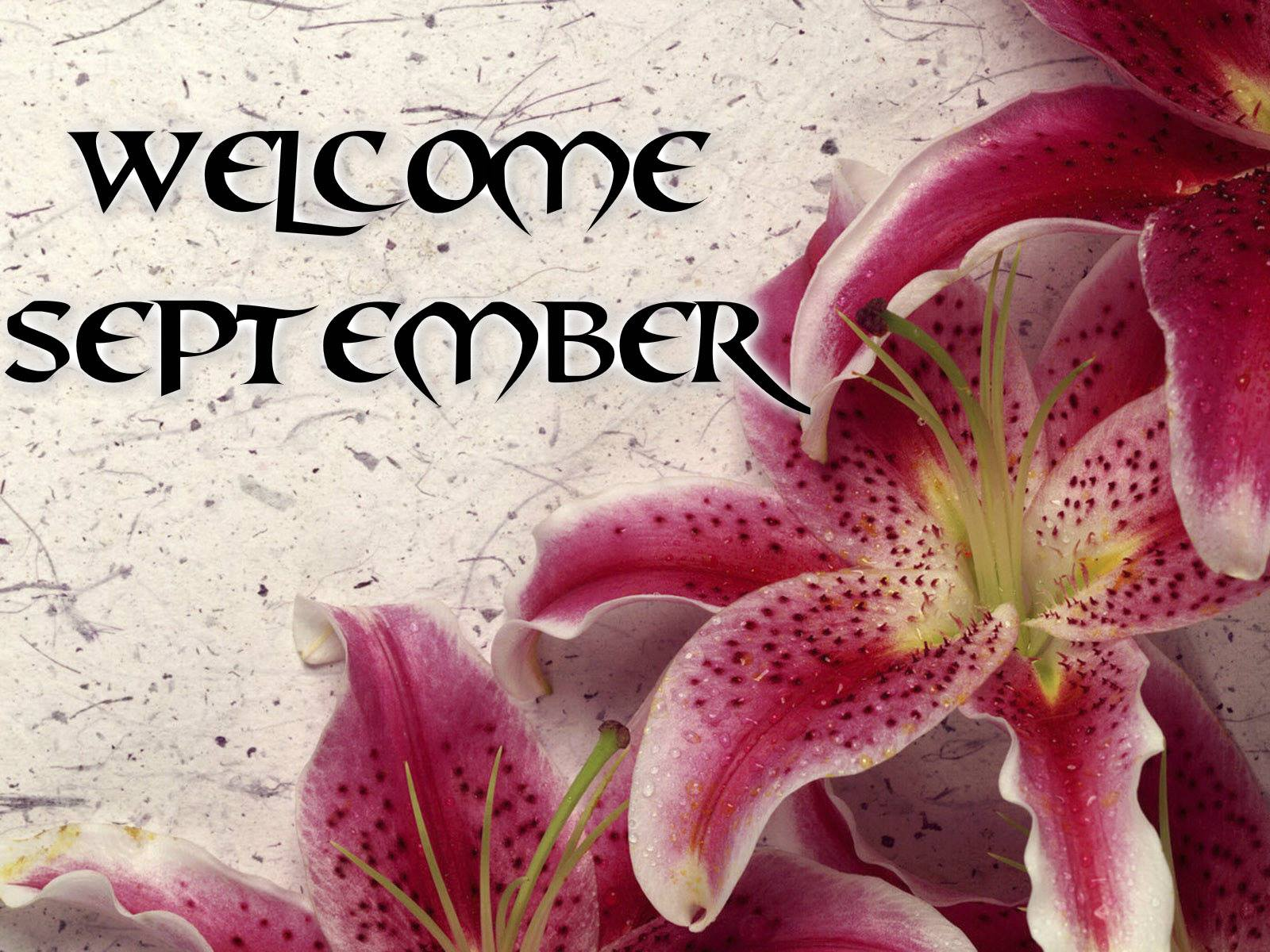 Free Welcome September Beautiful Images