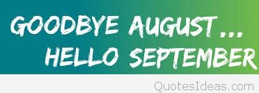 Goodbye August Cover Hello September Images