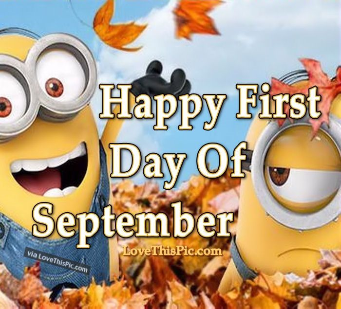 Goodbye August Hello September Funny Pictures