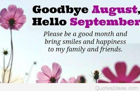 Goodbye August Hello September Images Tumblr