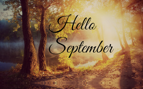 Goodbye August Hello September Wallpaper Autumn