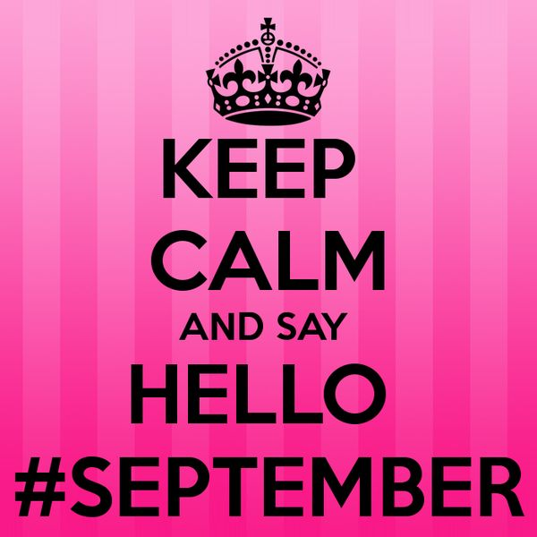 Goodbye August Hello September Wallpaper For Whatsapp