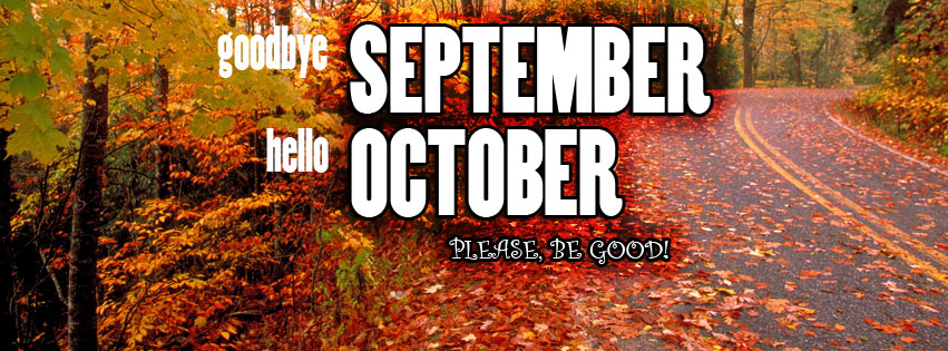 Goodbye September Hello October Images Facebook