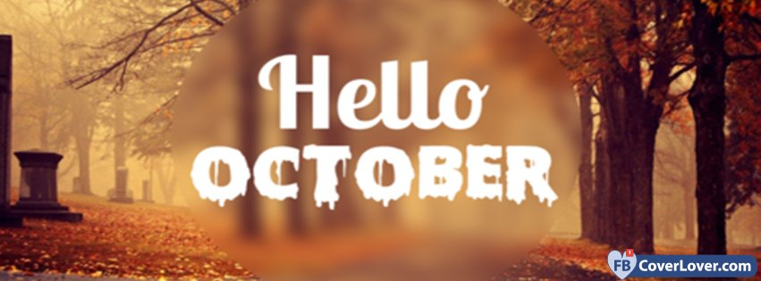 Hello October Images Facebook