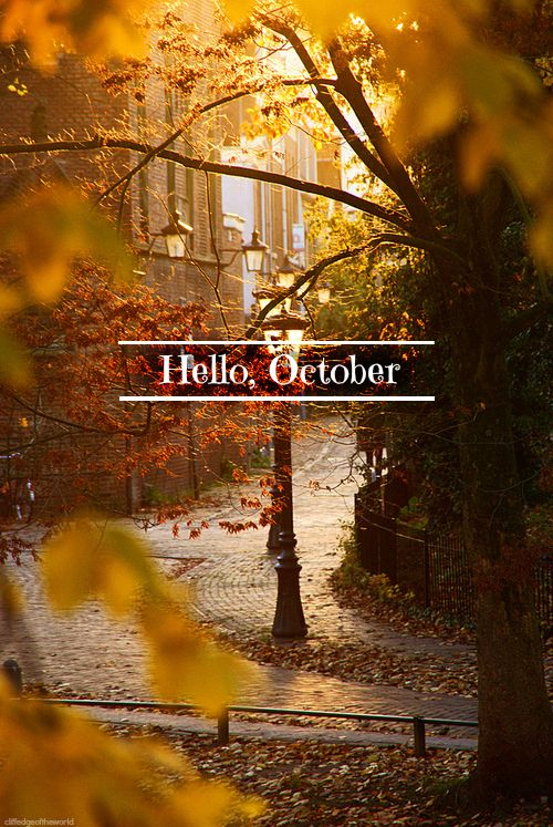 Hello October Images on Pinterest