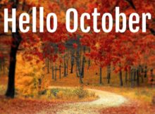 Hello October Quotes with Beautiful Pictures