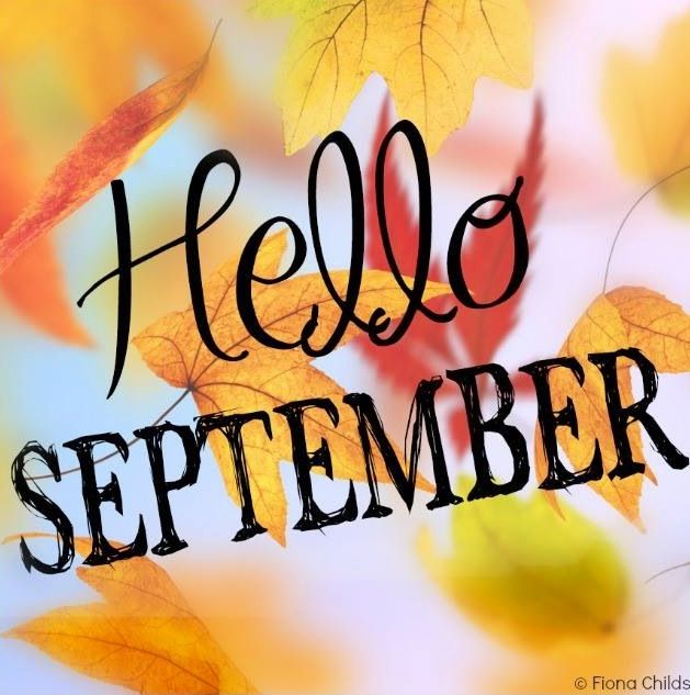 Hello September Clipart Pictures