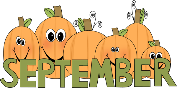Hello September Clipart for Facebook