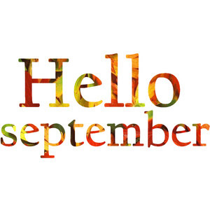 Hello September Clipart