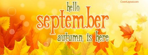 Hello September Facebook Cover Pics