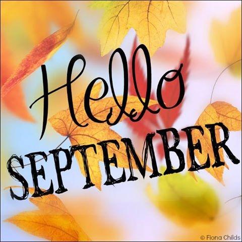 Hello September Images Pinterest