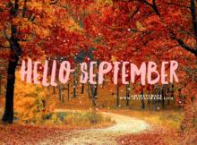 Hello September Images Tumblr