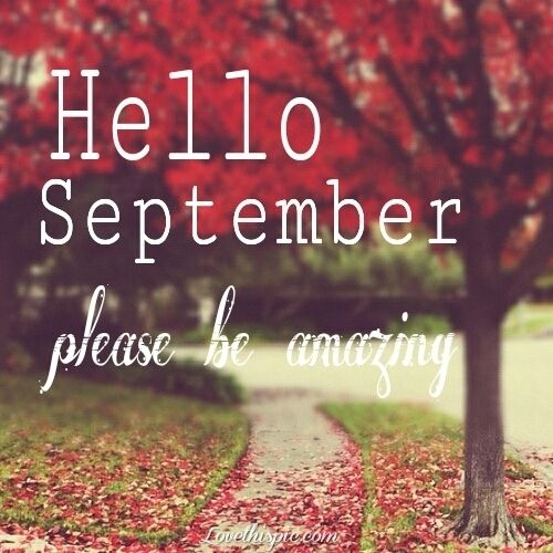 Hello September Month Sayings