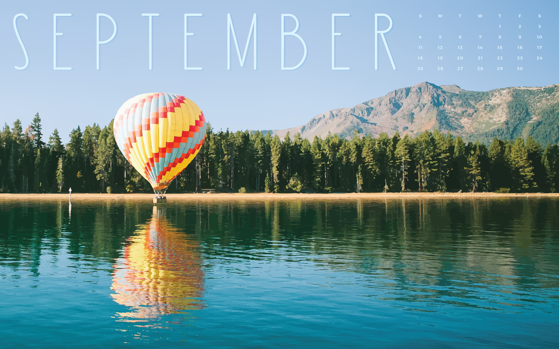 Hello September Photos With Calendar