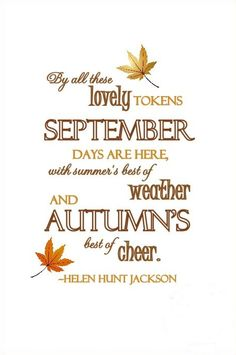 Hello September Pic Quotes