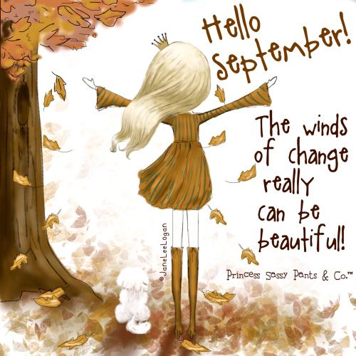 Hello September Sayings For Facebook