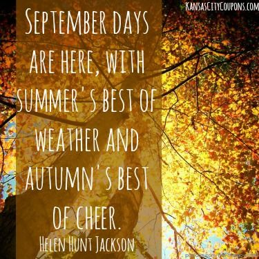 Hello September Sayings and Quotes