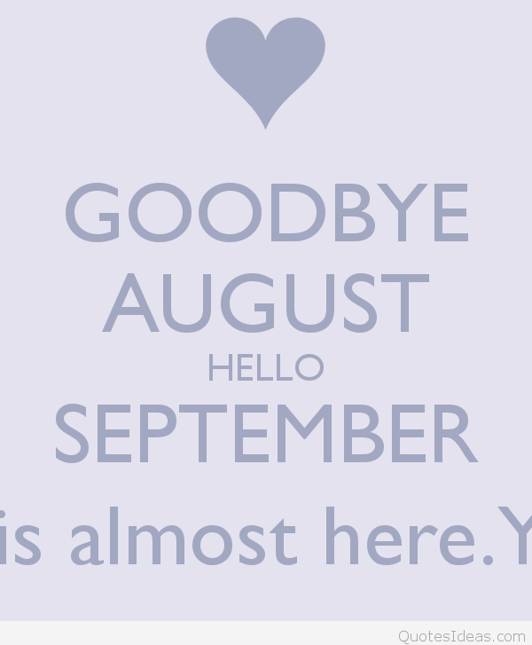 Hello September Sayings