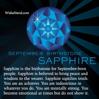 Sapphire September Birthstone Meaning