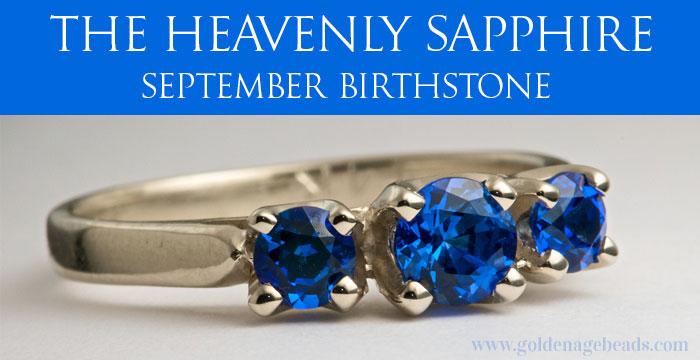 Sapphire September Birthstone Ring