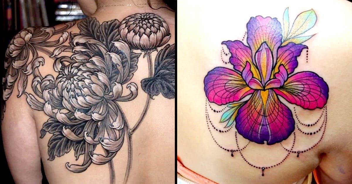 September Birth Flower Morning Glory Tattoo