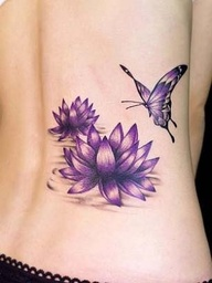 September Birth Flower Tattoo