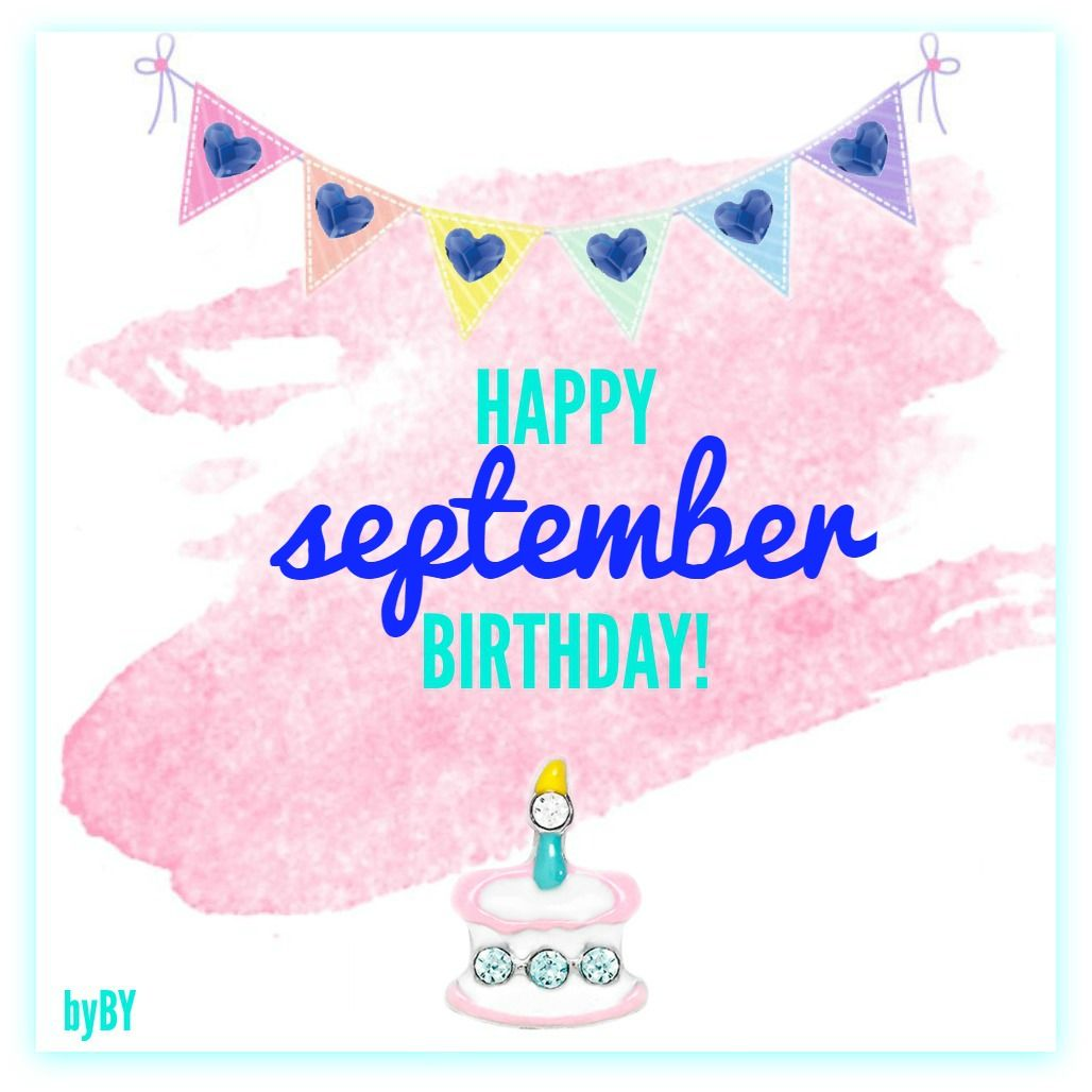 September Birthday Celebration Images, Quotes For Facebook