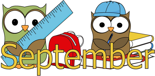September Clipart For School