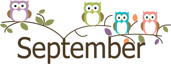 September Clipart Transparent Background