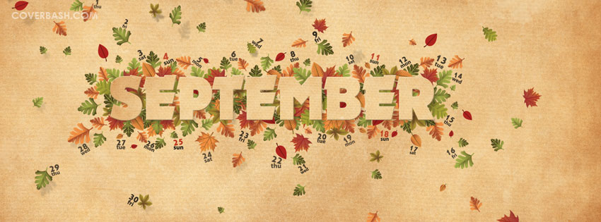 September Facebook Cover Images