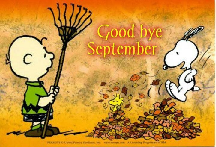 Snoopy Goodbye August Hello September Quotes