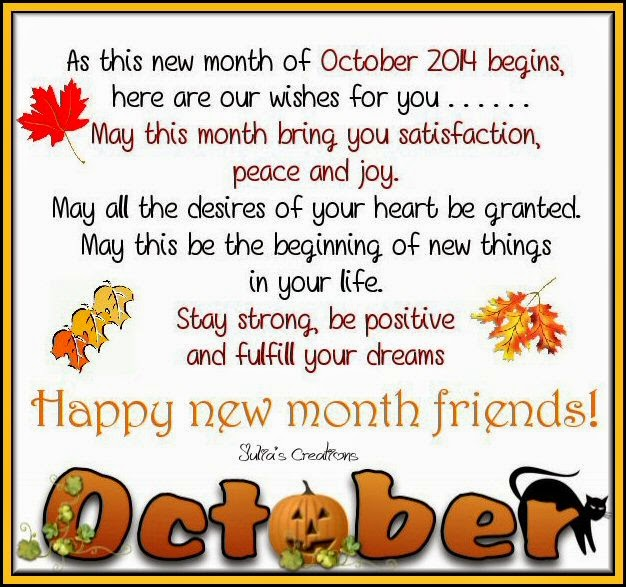 Welcome October Images Funny